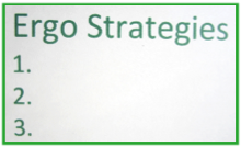 Ergo Strategies